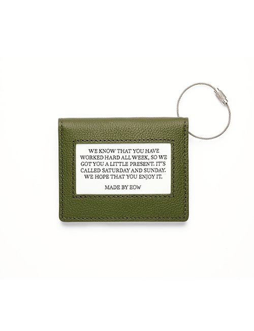 TODAY WALLET - OLIVE